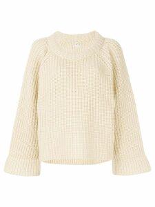 Hermès Pre-Owned chunky jumper - Neutrals