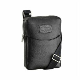 S.T. Dupont Small Zippered Cross Shoulder