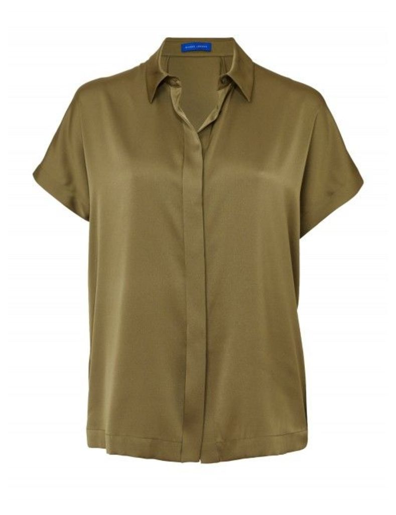 Winser London Silk Short Sleeve Shirt