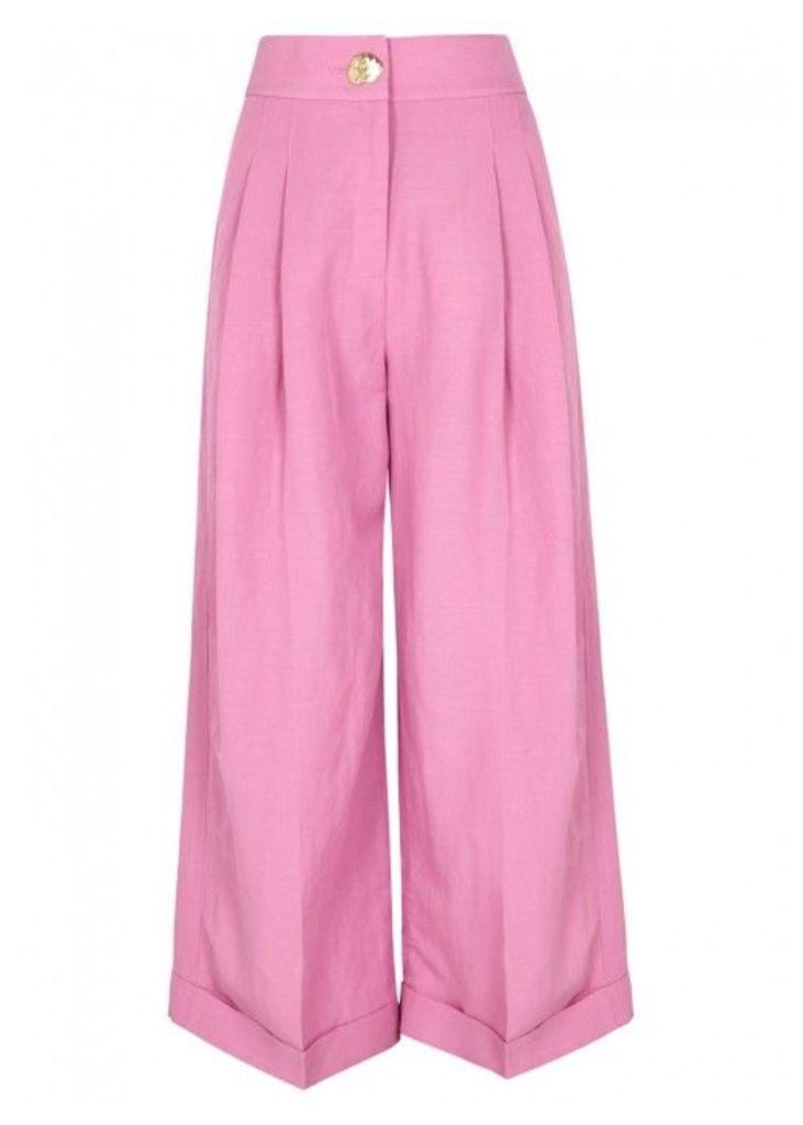 Rejina Pyo Dylan Cropped Wide-leg Trousers - Size 8