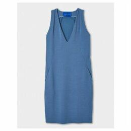 Winser London Crepe Jersey Shift Dress
