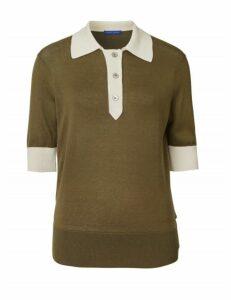 Winser London Silk Cotton Polo Shirt