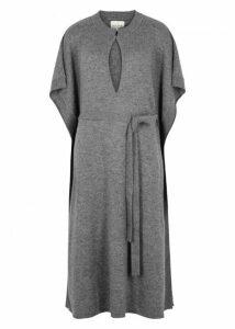 Le Kasha Goa Grey Cashmere Kaftan