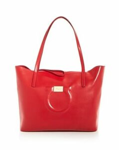 Salvatore Ferragamo Large Gancio City Tote