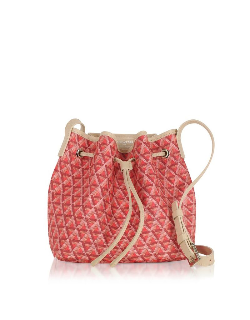 Lancaster Paris Designer Handbags, Ikon Small Bucket Bag