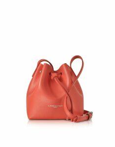 Lancaster Paris Designer Handbags, Pur Saffiano Leather Mini Bucket Bag