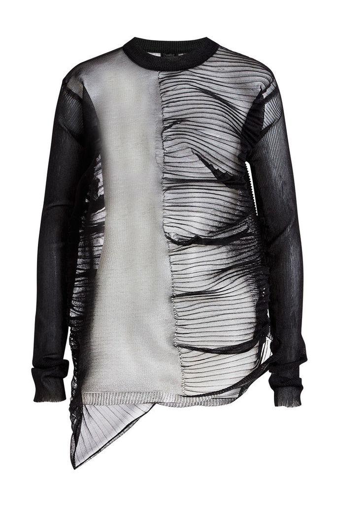 Rick Owens Sheer Knit Pullover