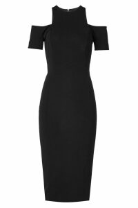 Victoria Beckham Tailored Dress with Cold Shoulders