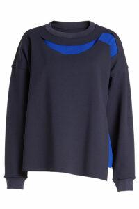 Maison Margiela Jersey Sweatshirt with Cut-Out Detail