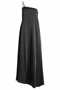 Jil Sander Floor-Length Satin Dress