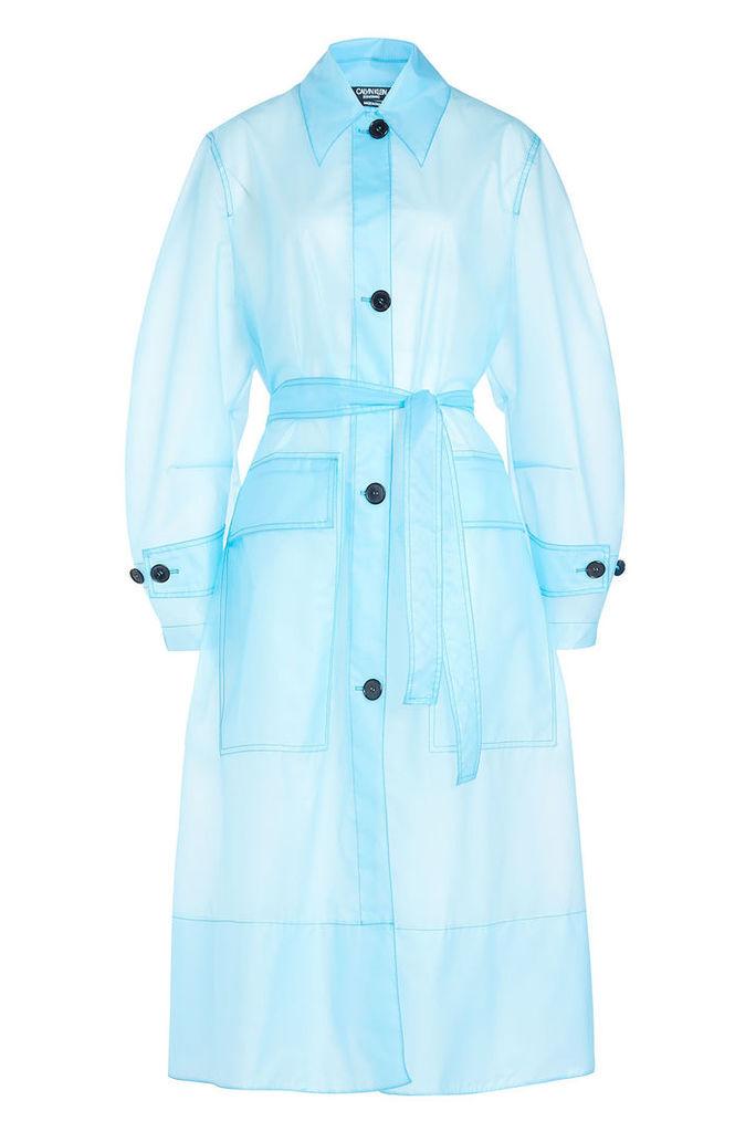 CALVIN KLEIN 205W39NYC Transparent Coat