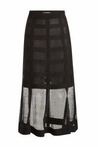 Alexander McQueen Silk Skirt