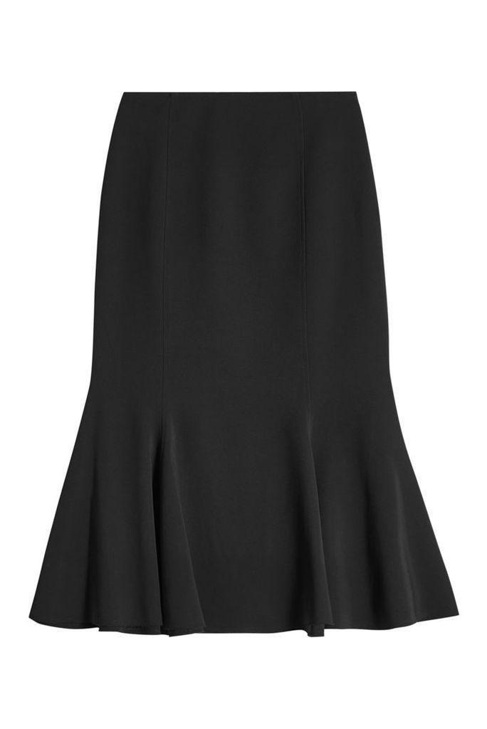 Proenza Schouler Fluted Crepe Skirt