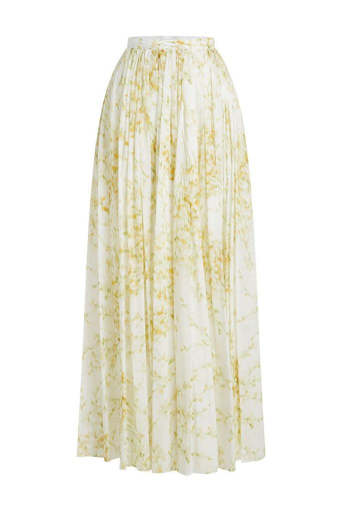 BROCK COLLECTION Sade Printed Cotton Maxi Skirt