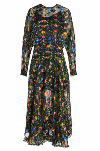 Preen by Thornton Bregazzi Bergamot Embroidered Dress with Silk