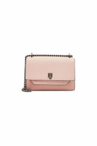 Valextra Small Spritz Leather Shoulder Bag