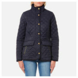 Joules Women's Newdale Quilted Coat - Marine Navy - UK 6 - Navy