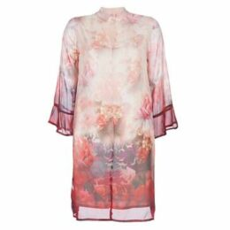 Cream  ZERDOK  women's Dress in Pink