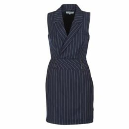 Morgan  REBEL  women's Dress in Blue