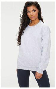 Light Grey Ultimate Oversized Sweater, Grey