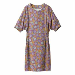 Floral Print Dress with Elasticated Waist