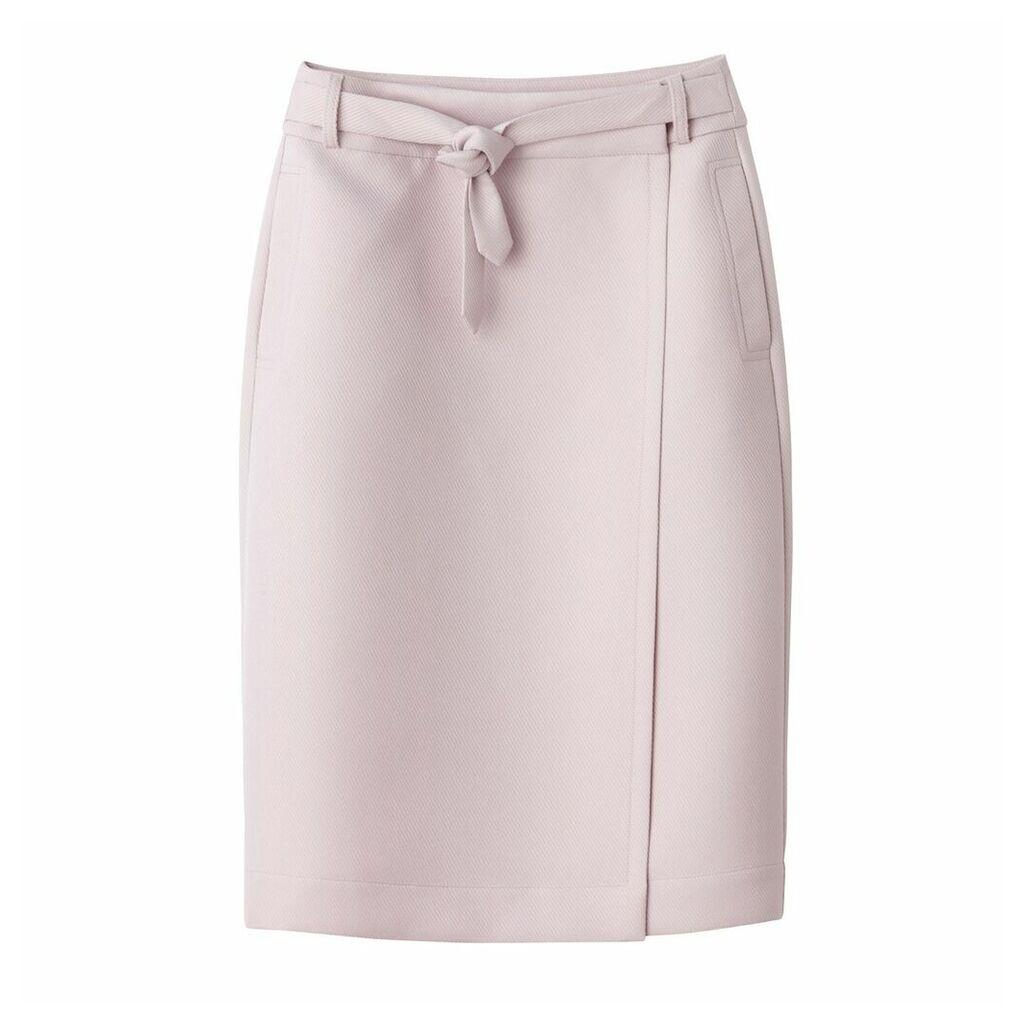Midi Wrapover Skirt