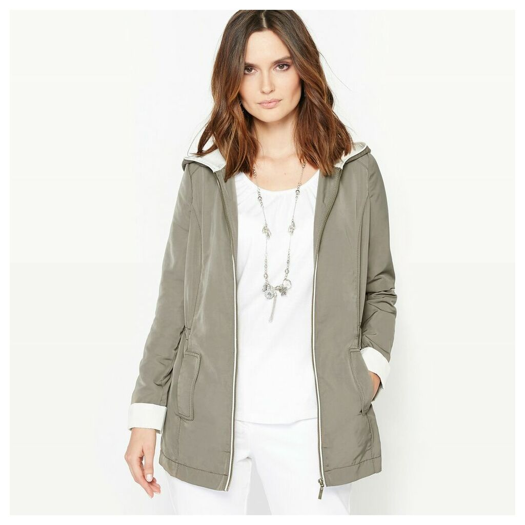 Lightweight Two-Tone Parka