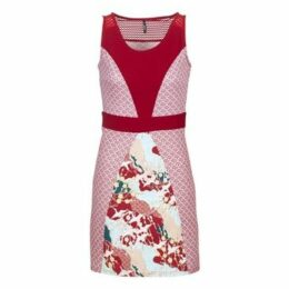 Smash  PAPOILA  women's Dress in Red