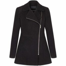 Anastasia  Short Zip Winter Jacket  women's Coat in Black
