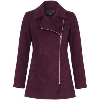 Anastasia  Short Zip Winter Jacket  women's Coat in Red
