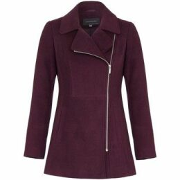 Anastasia  Short Zip Winter Jacket  women's Coat in Red