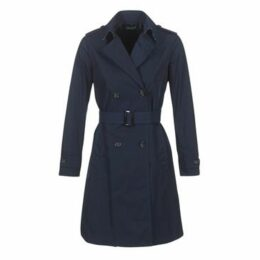 Benetton  BACEPAMD  women's Trench Coat in Blue