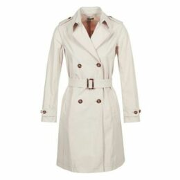 Benetton  BACEPAMD  women's Trench Coat in Beige