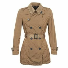 Geox  RACELO  women's Trench Coat in Beige