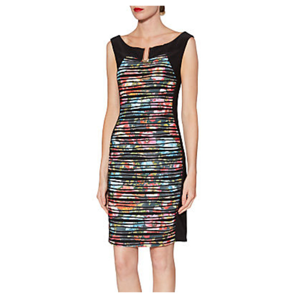 Gina Bacconi Fearne Abstract Floral Dress, Multi