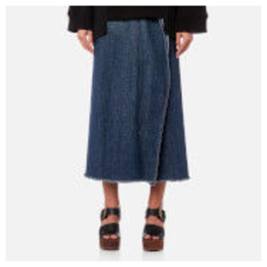 MM6 Maison Margiela Women's 80'S Wash Denim Skirt - Medium Blue