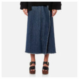 MM6 Maison Margiela Women's 80'S Wash Denim Skirt - Medium Blue