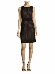 Geometric Sheath Dress