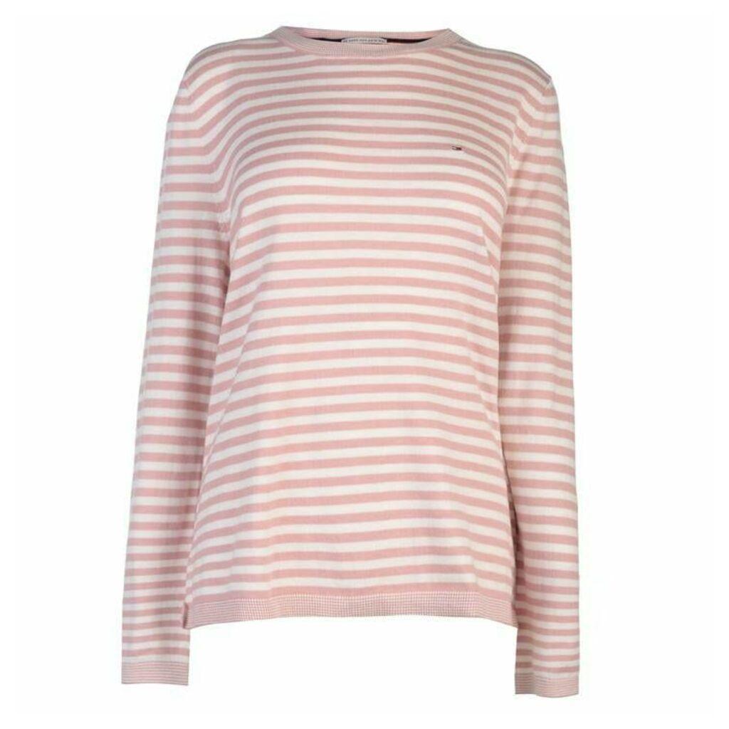 Hilfiger Denim Basic Stripe Sweatshirt
