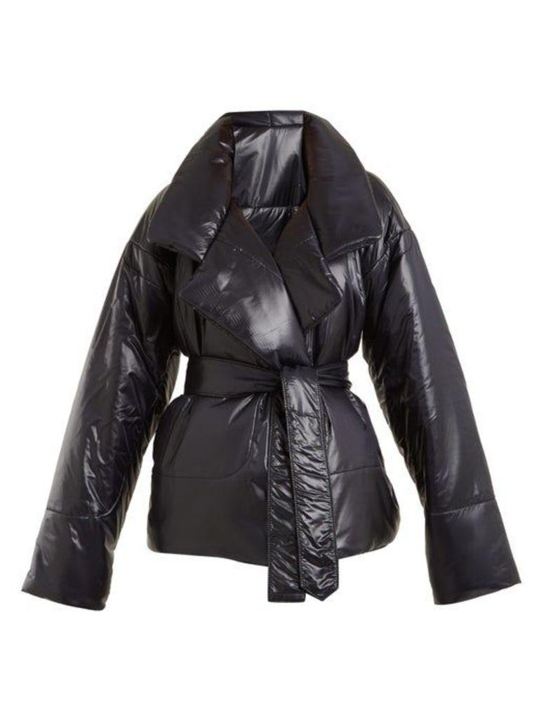 Norma Kamali - Sleeping Bag Short Coat - Womens - Black