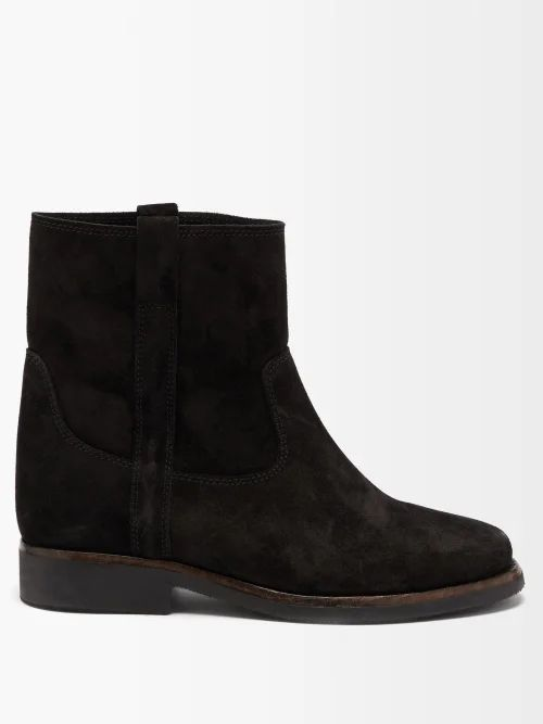 Eckhaus Latta - Raglan Sleeve Alpaca Blend Cropped Sweater - Womens - Grey Multi