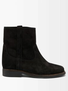 Eckhaus Latta - Raglan Sleeve Alpaca Blend Cropped Sweater - Womens - Grey Multi