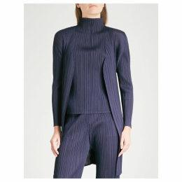 Basics pleated coat