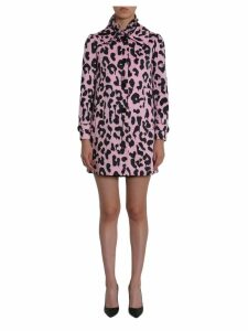 Boutique Moschino Leopard Printed Coat