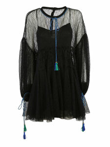 Philosophy di Lorenzo Serafini Tassel Lace Dress