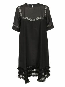Rochas Lace Detail Dress