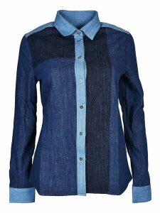 7 For All Mankind Color Block Shirt