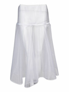 Ermanno Scervino Lace Detail Skirt