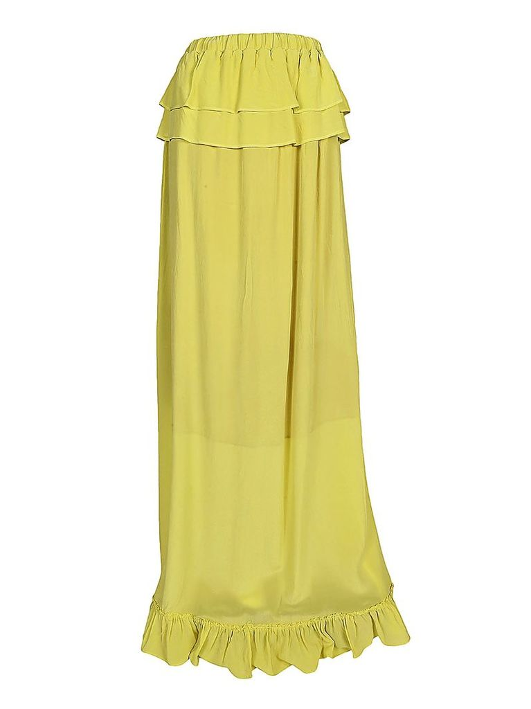 Semicouture Ruffle Detail Skirt