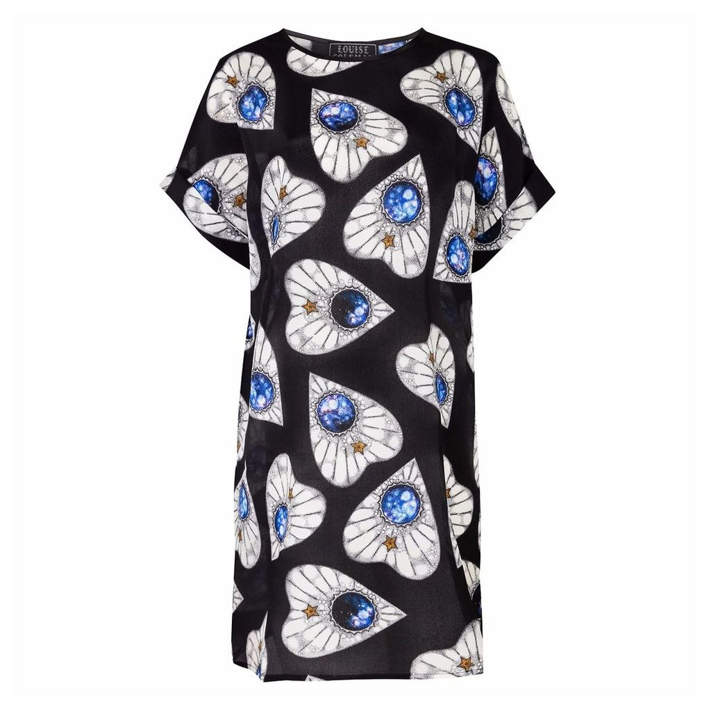 Louise Coleman - Planchette Silk T-Shirt Dress